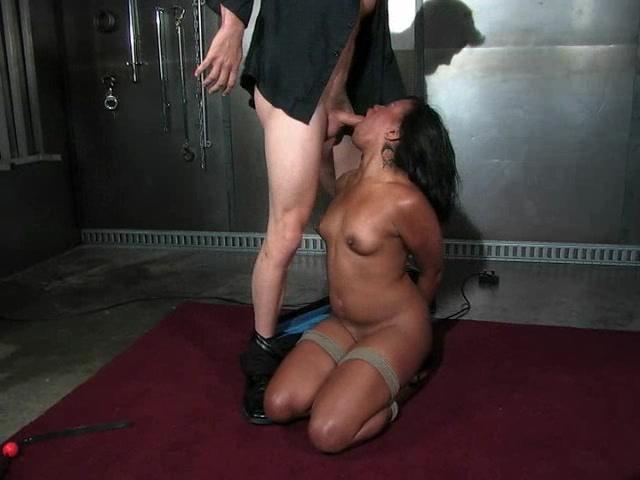 Thick Ebony Sucking Black Dick
