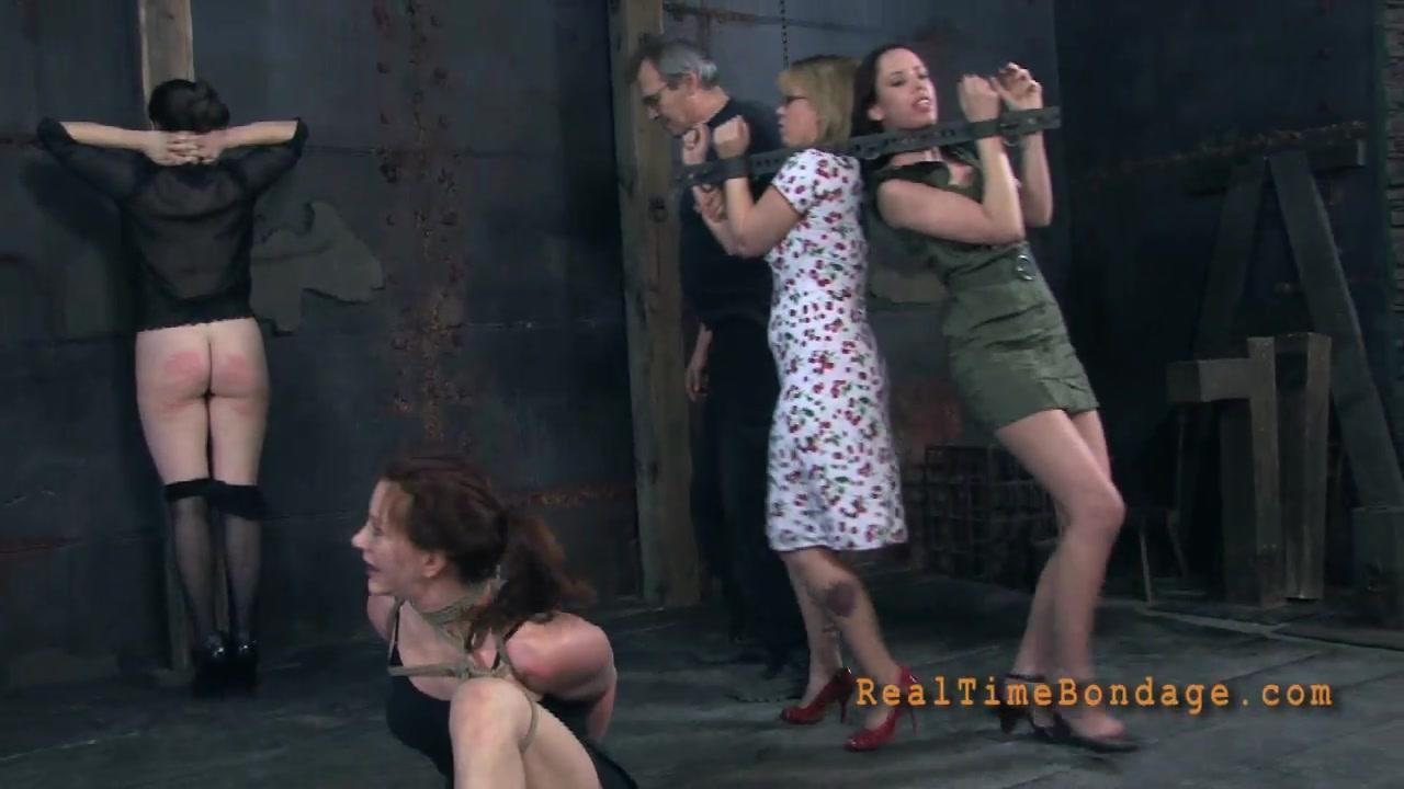 Redhead milf bondage