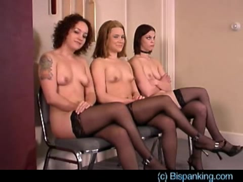 Naked spanking sex