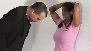 Chubby nicole paradise gets caught cheating